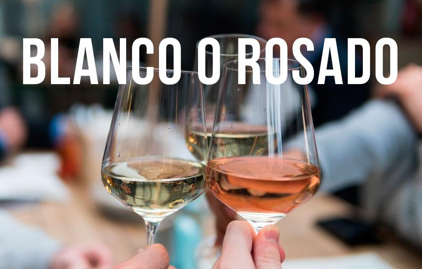 diferencias entre vino blanco y vino rosado