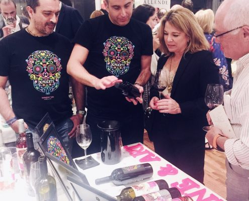 Cata en Madrid de vinos Wineryon
