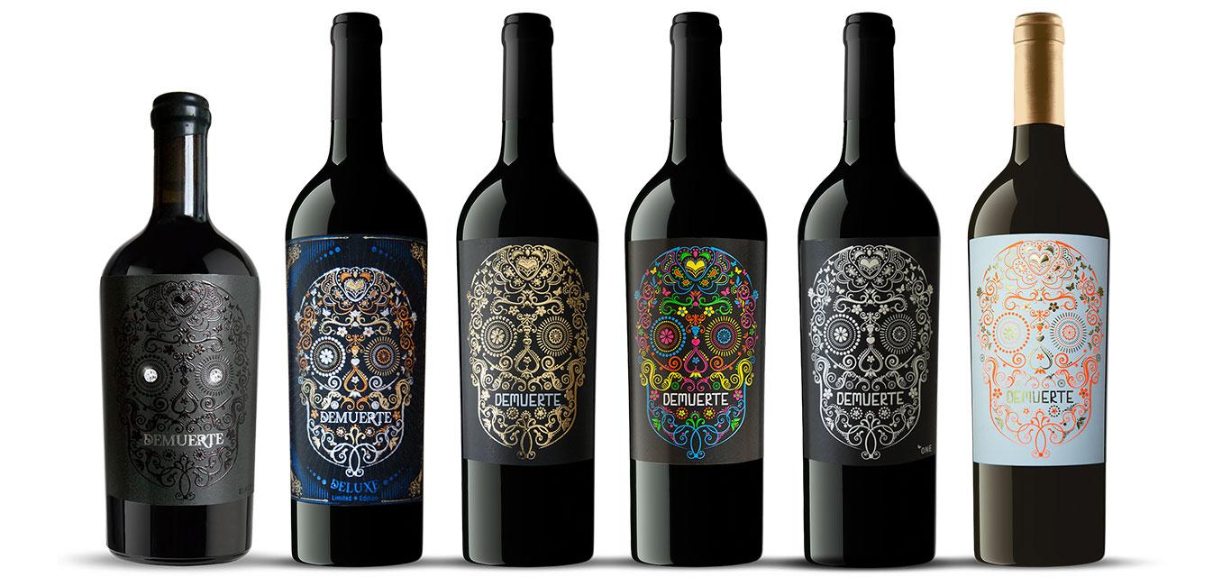 Uva Monastrell y vinos DEMUERTE