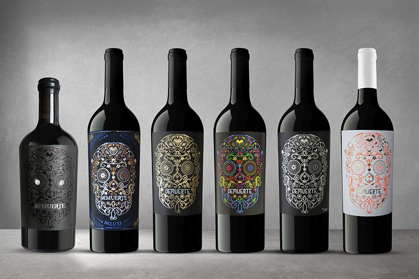 DEMUERTE WINES nuestra colección de vinos espeluznantemente buenos